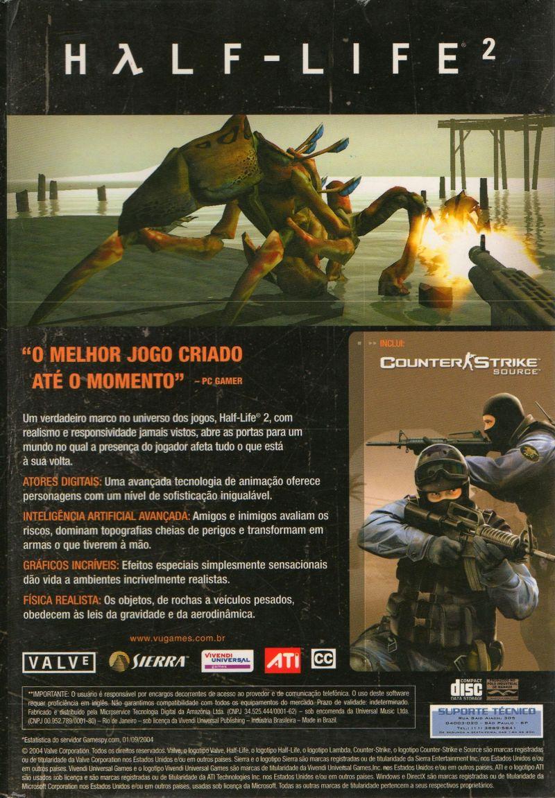 Box (PC, Brazil) - valvearchive com > archive > Half-Life