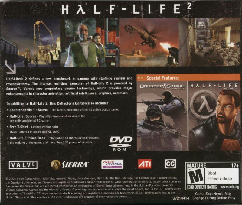 Collectors Edition Alt (PC, US) - valvearchive com > archive > Half