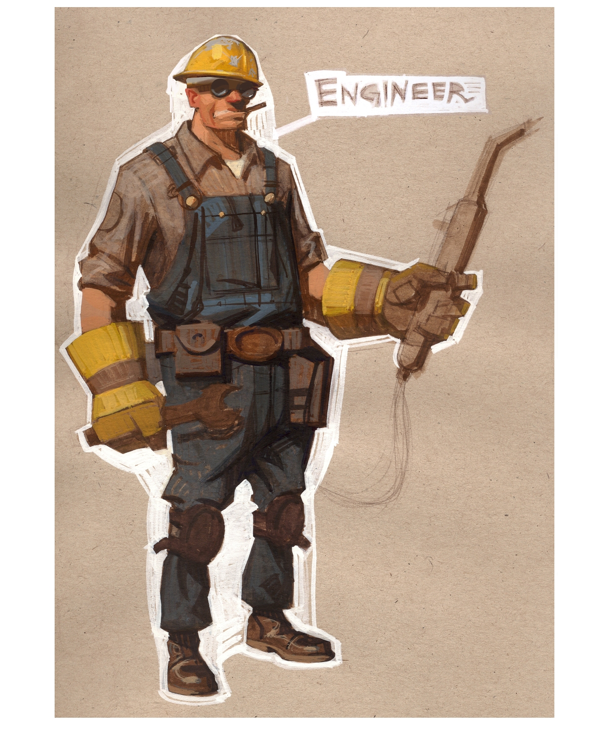 Engineer - valvearchive com > archive > Team Fortress > Team