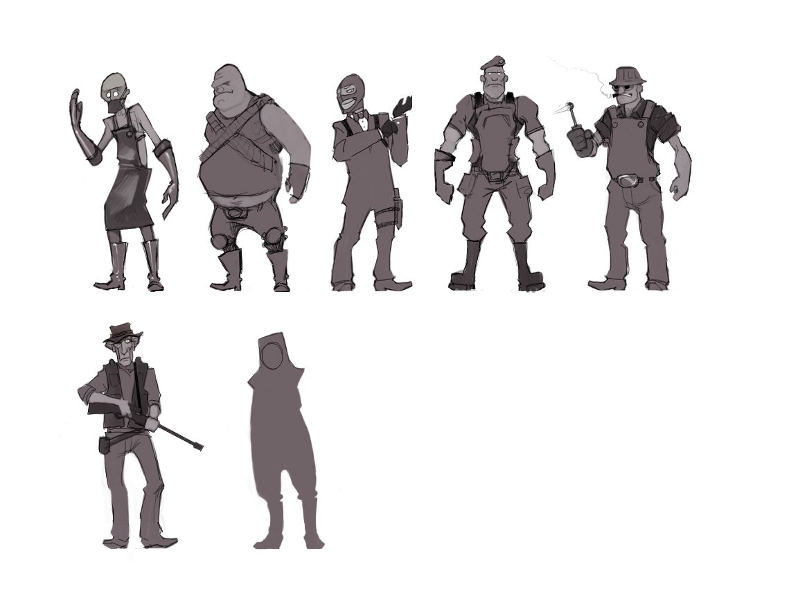 Character Art Valvearchive Com Archive Team Fortress Team